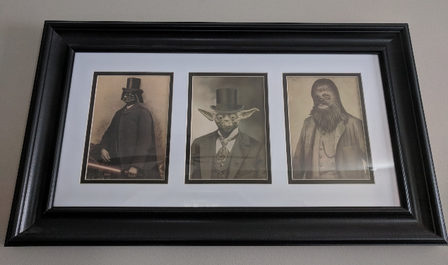 Three Gentlemen of Star Wars